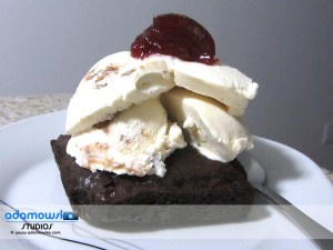 Chocolate Truffle Brownie