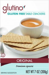 Glutino- GF Table Crackers