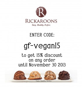 Rickaroons Saving Coupon