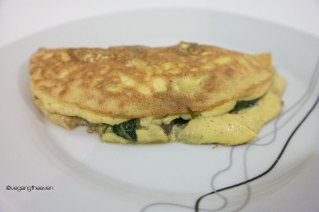 Vegan Cheese  Omelet