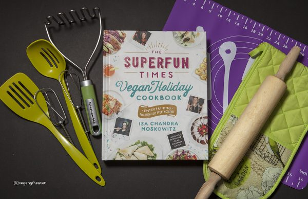 """The Superfun Times Vegan Holiday Cookbook""- Review"