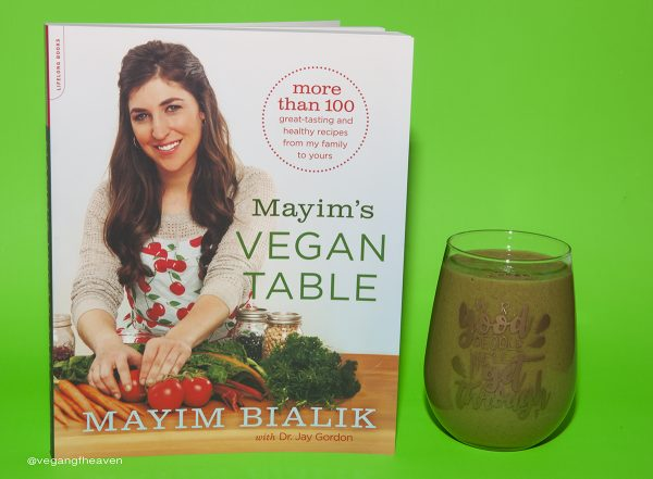 Mayim's Vegan Table by Mayim Bialik with Dr. Jay Gordon – Book Review