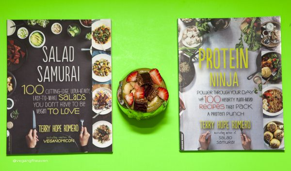 """Salad Samurai"" and ""Protein Ninja"" by Terry Hope Romero- Books Review"